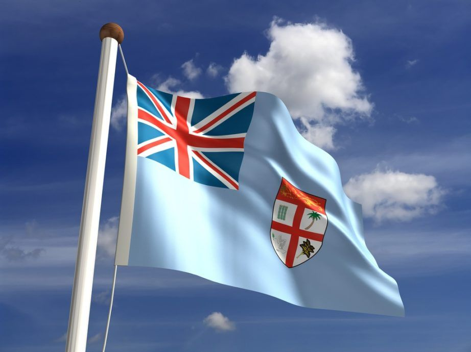fiji flag blue union jack