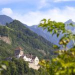 liechtenstein travel vaduz castle mountains alpine landscape monarchy royal