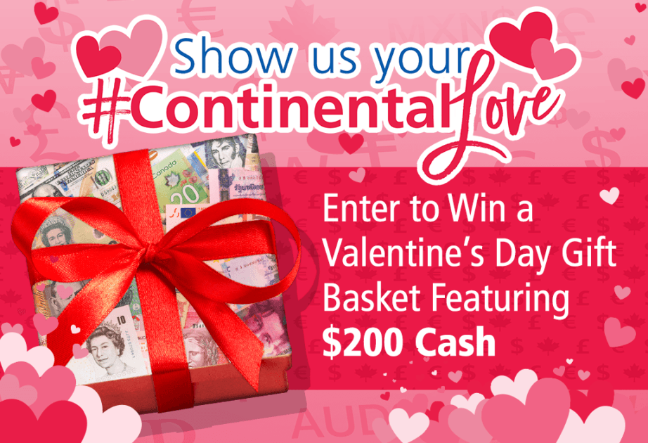 continental love valentines day gift