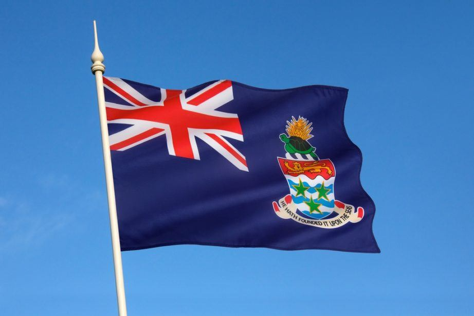 cayman islands flag union jack crest sigil