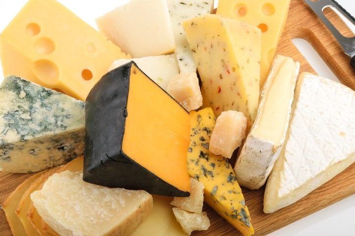 european cheese plate food dairy