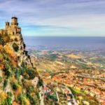 san marino travel three towers guaita landscape castle fort hill mountain