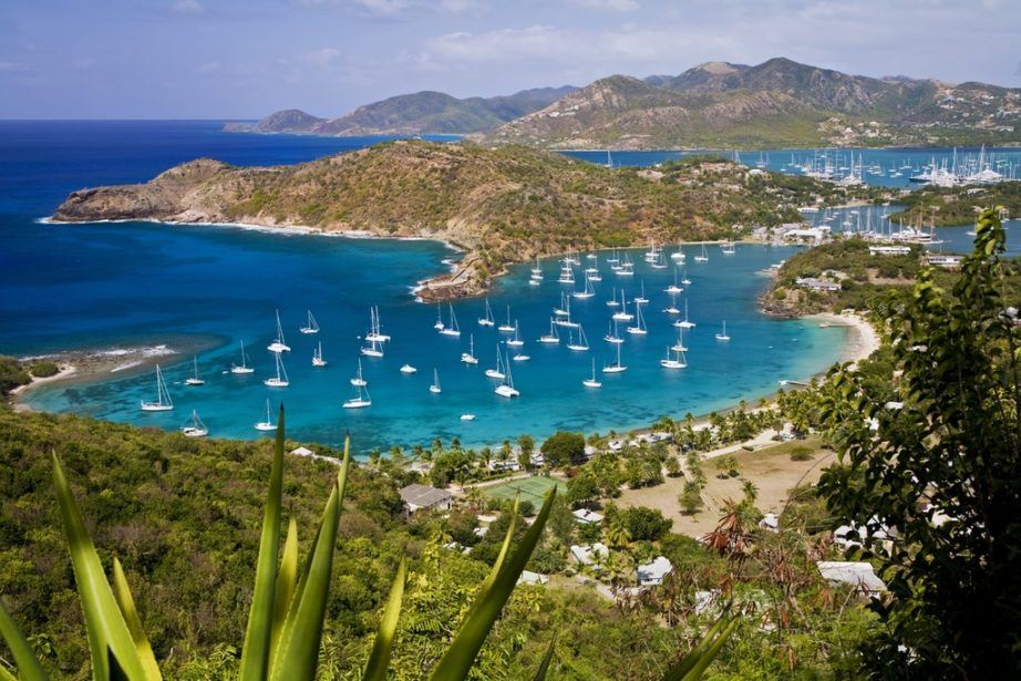 antigua and barbuda travel english harbour caribbean sea boats