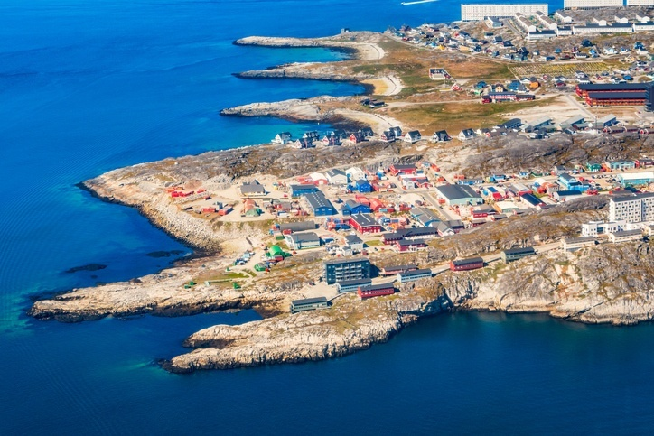 nuuk greenland capital coast water land