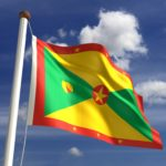 grenada flag yellow green red