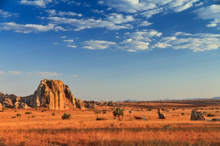 isalo national park desert sand rock madagascar