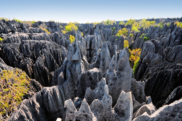 madagascar rock formation stone unique landscape