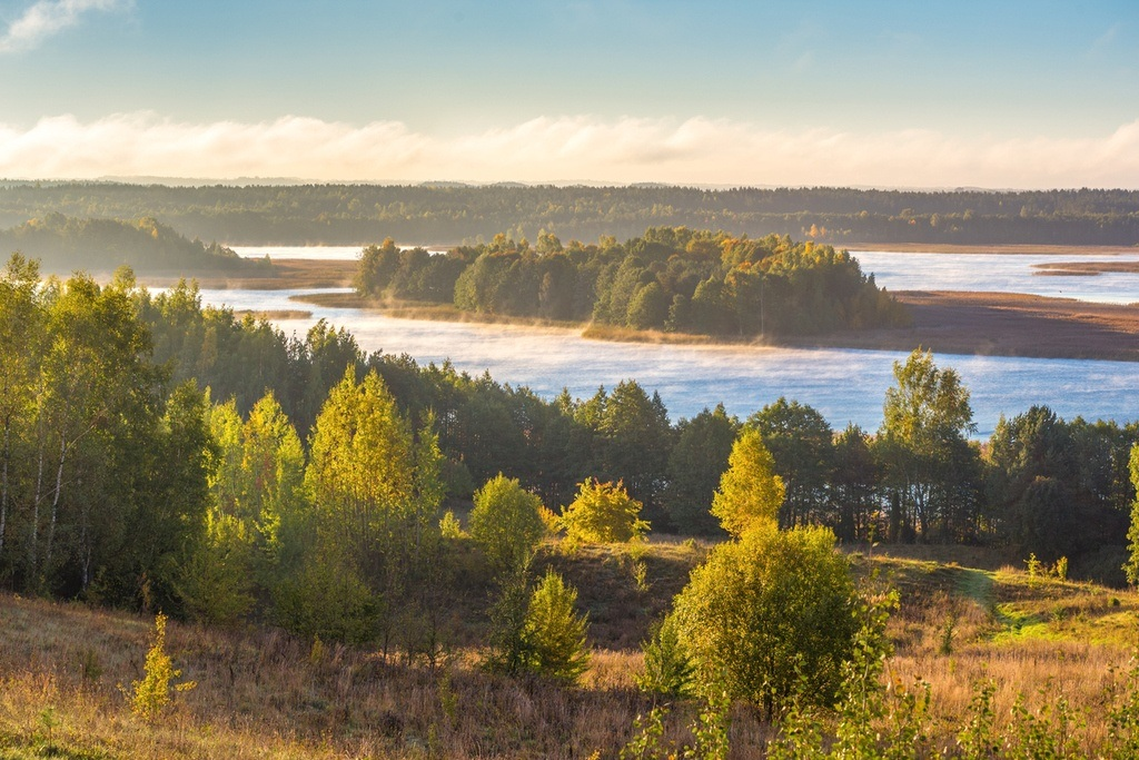 belarus travel braslav lakes park nature forest
