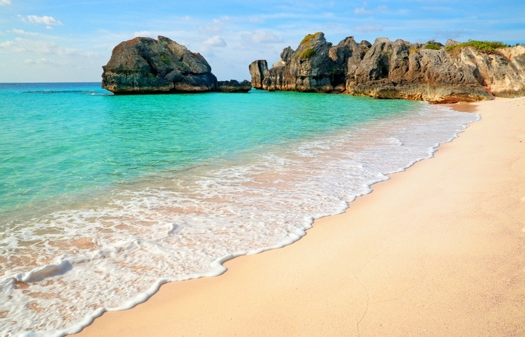 bermuda beach sandy water ocean
