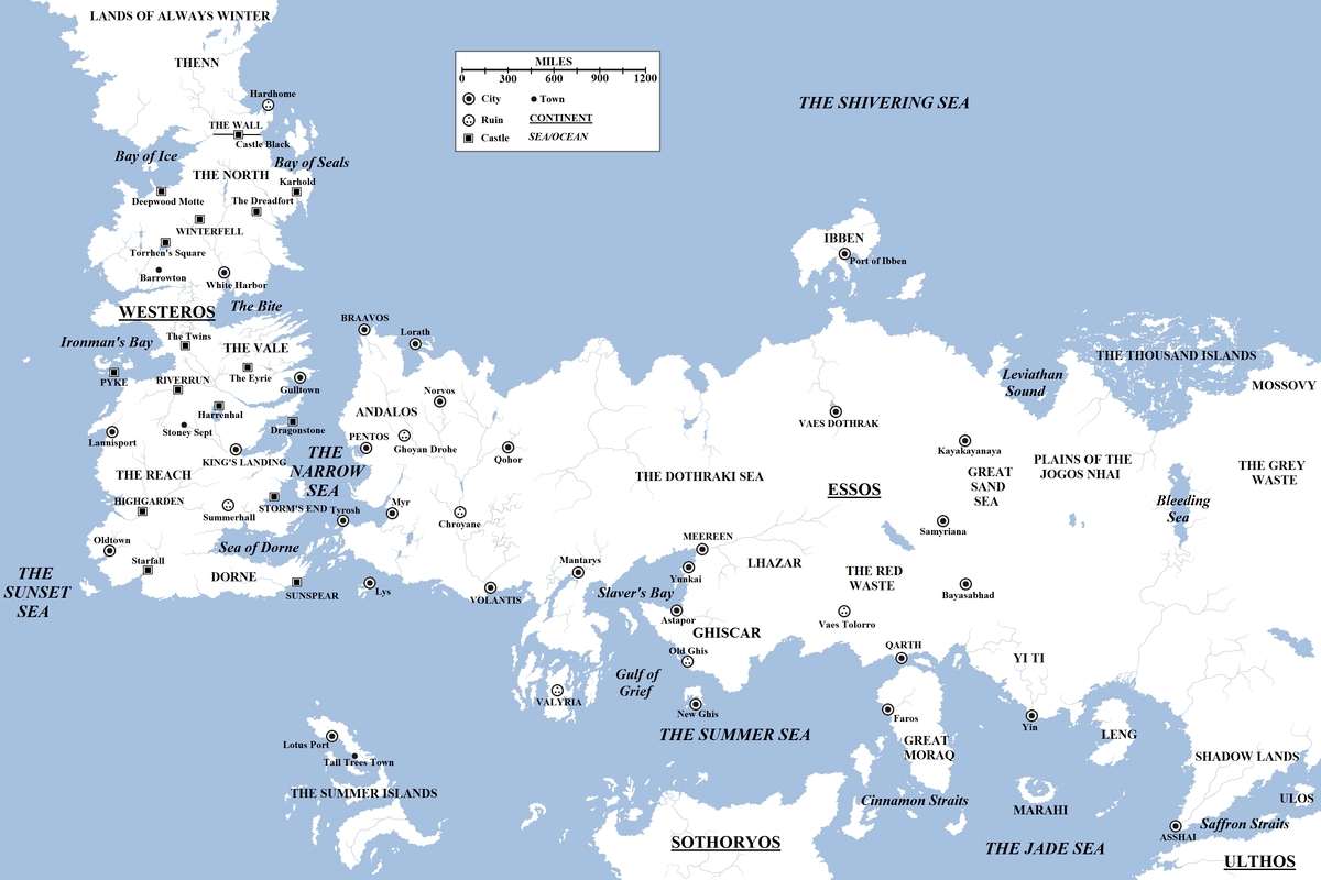 game of thrones essos map westeros continent cities