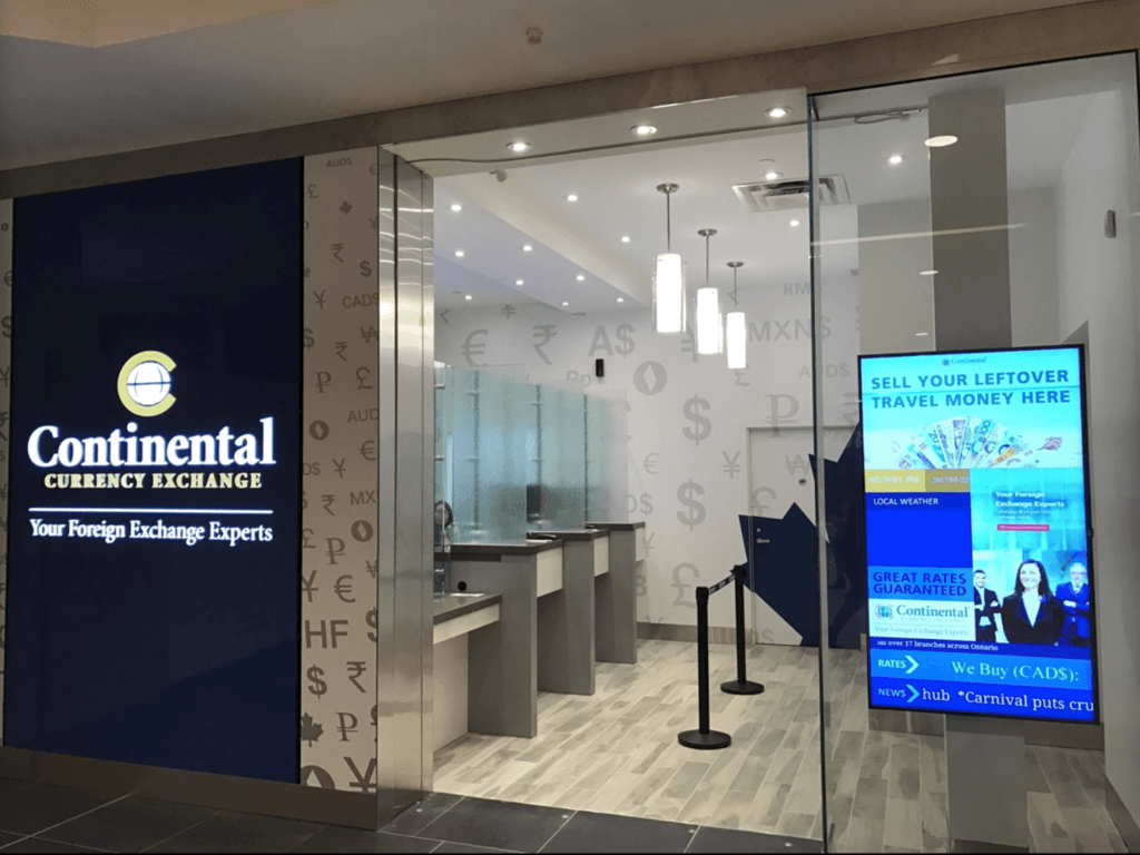 continental currency exchange scarborough branch new
