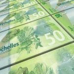 seychellois rupee seychelles currency money bills notes green