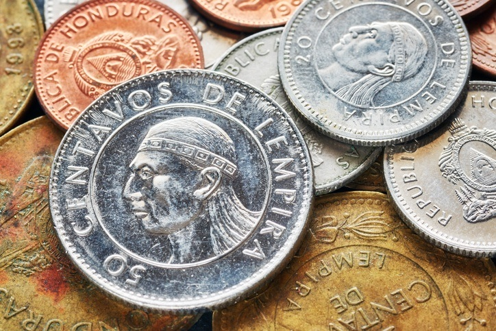 honduras coins honduran lempira currency portrait