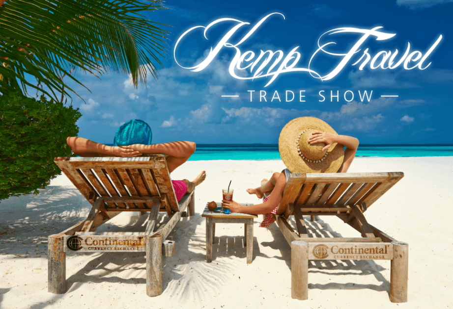 kemp travel trade show oshawa beach chairs vacation relaxing