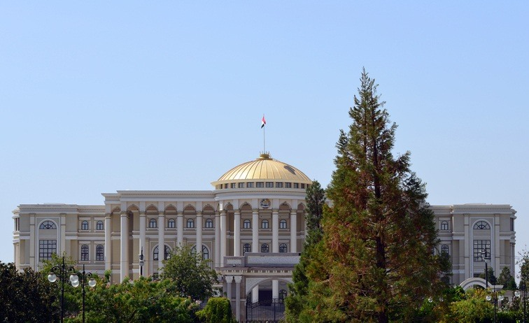 tajikistan dushanbe presidential palace politics city government
