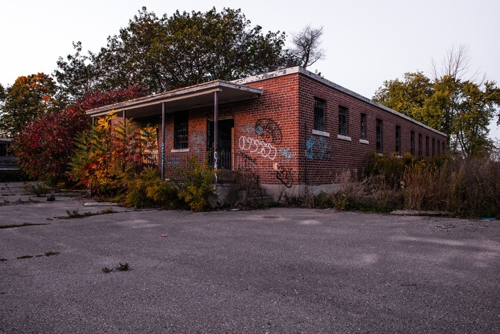 world war two II bowmanville ontario POW camp german abandoned history