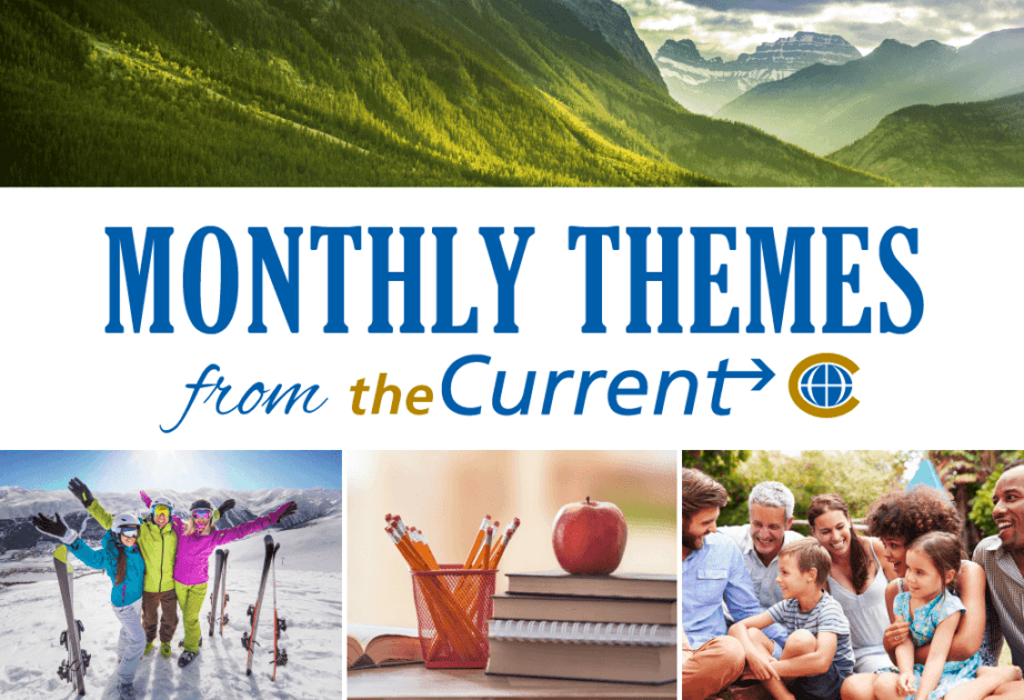 monthly themes blog current month