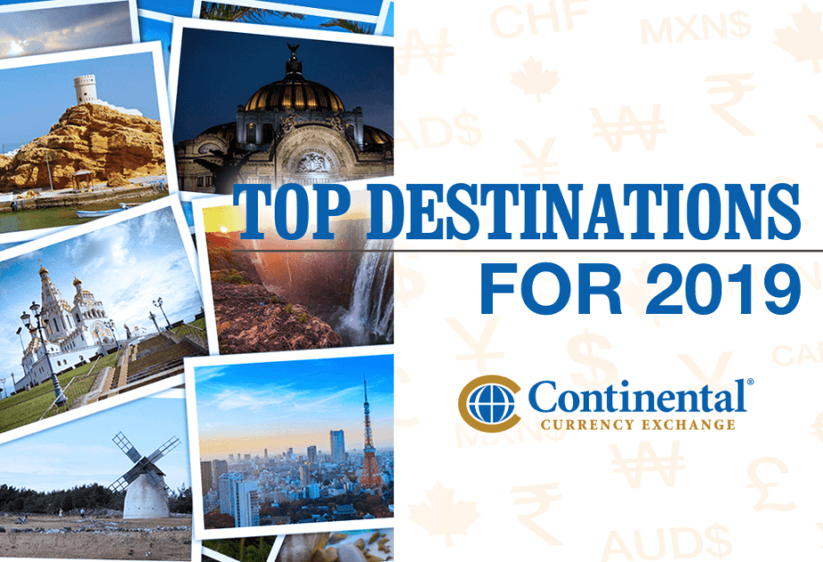 top destinations 2019 travel countries cities