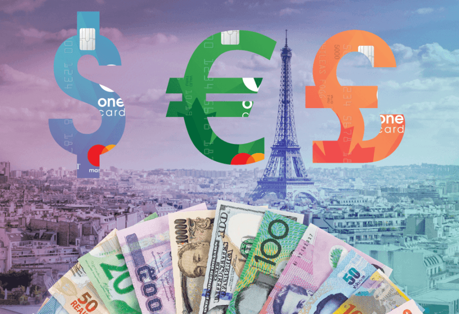 onecard is here launch symbols currency dollars pounds euros