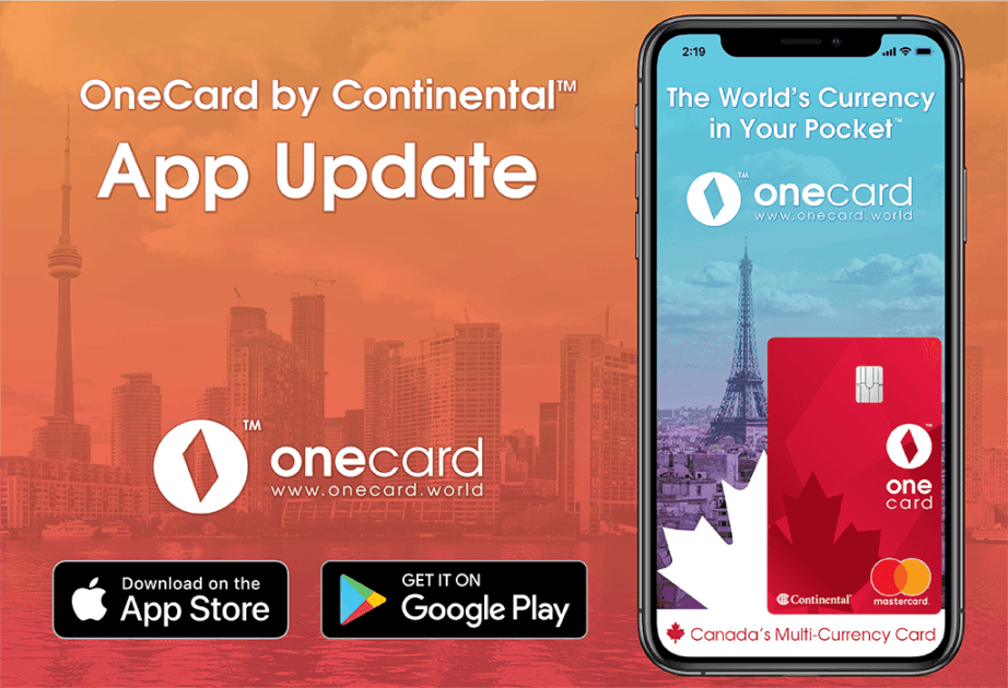 onecard app update version 1.1.4