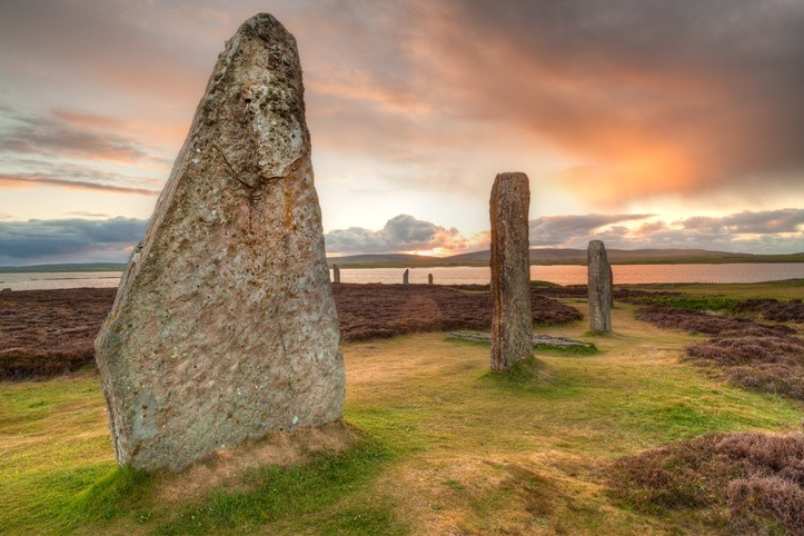 ring of brodgar orkney isles scotland