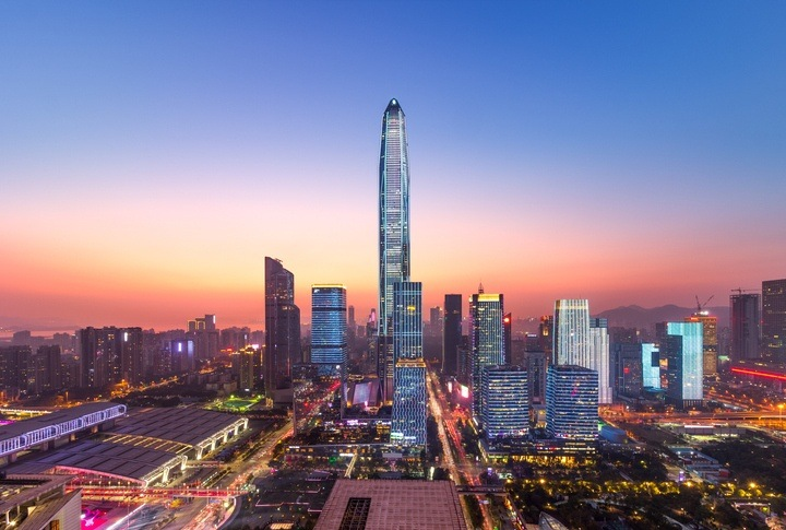 ping an finance tower asia