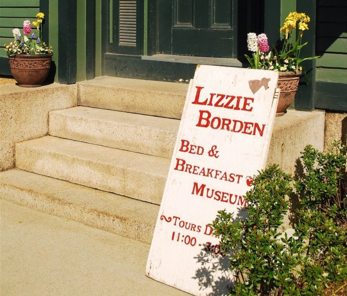 Halloween destination Lizzie Borden House