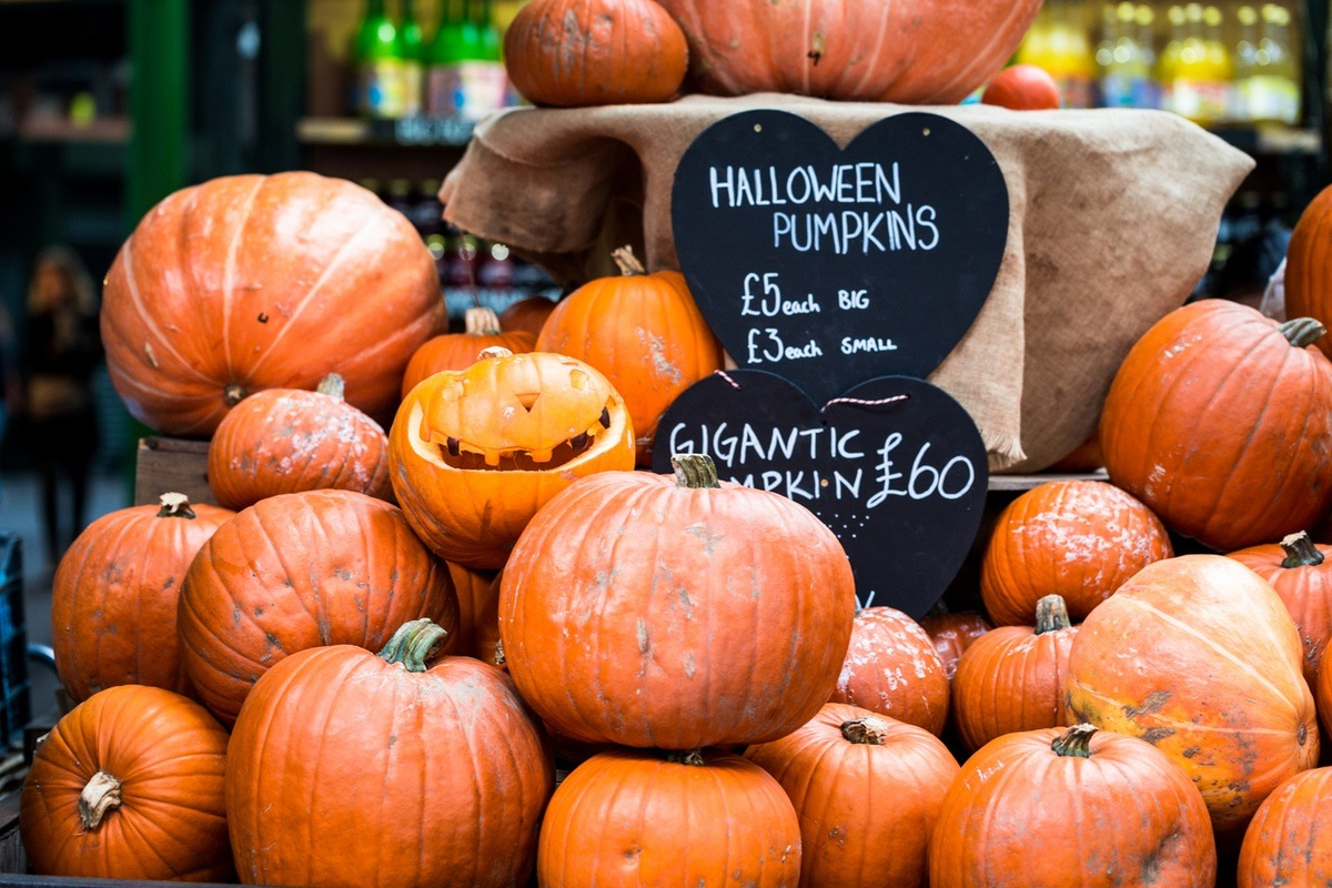 Halloween Destination London Pumpkins