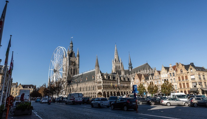 Museum and Ferris Wheel Ypres